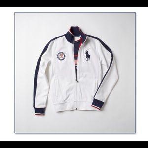 Ralph Lauren Olympic full zip jacket M